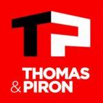 Logo client Thomas et Piron client photographe